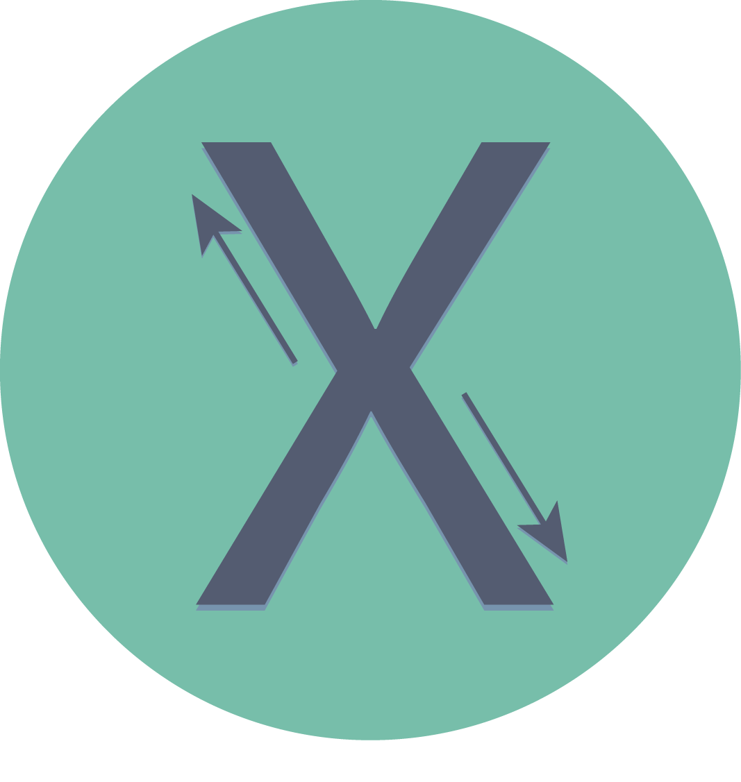 Cross Media Icon